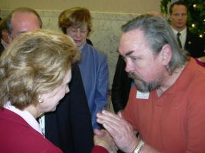 Mike with Gov. Gregoire